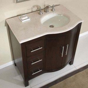 Врезная раковина в ванной