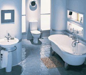 Красивая ванная комната