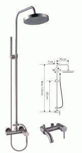 Высота установки смесителя