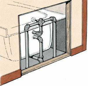 Особенности подключения смесителя для ванны
