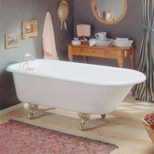Акриловая ванна со смесителем