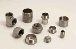 Разные размеры фитингов из нержавеющей стали