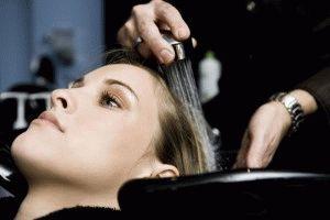Использование парикмахерской мойки
