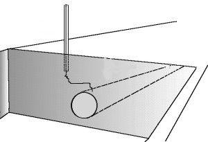 Проектирование прокладки трубы
