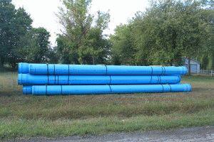 Использование канализационных труб НПВХ