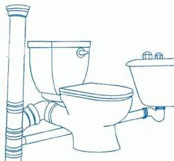 Установка унитаза в чугунную канализацию