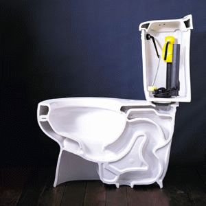 Что делать если из туалета течет вода