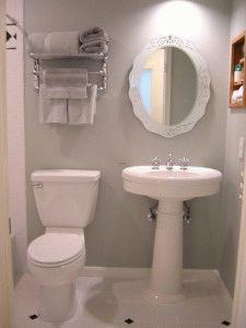 Ванная с фарфоровой сантехникой