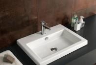Раковина для ванной, встраиваемая сверху – современное и практичное решение