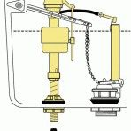 Конструкция заливного клапана для унитаза, его ремонт и установка своими руками