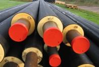 Процесс утепления труб водопровода в земле