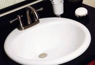 Врезная раковина для ванной – залог современного практичного интерьера