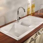 Керамическая раковина для кухни: выбор, характеристики, монтаж