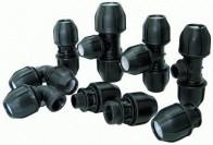 Обзор компрессионных фитингов для полиэтиленовых труб и руководство по применению