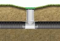 Особенности перфорированных труб для дренажа земли