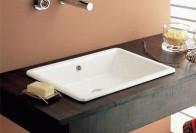 Высота установки раковины в ванной – элемент удобства