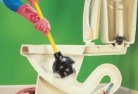 Как прочистить засор в унитазе: советы и рекомендации