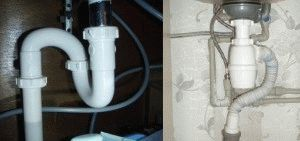 Трубный и бутылочный сифоны