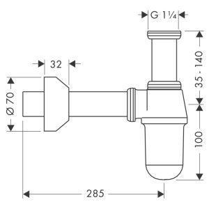 Устройство бутылочного сифона