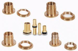 Цанговые фитинги для металлопластика