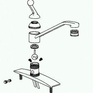 Устройство смесителя в ванной комнате