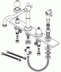 Конструкция простого смесителя