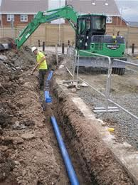 Глубина заложения водопроводных труб