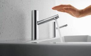 Экономия воды с умным смесителем