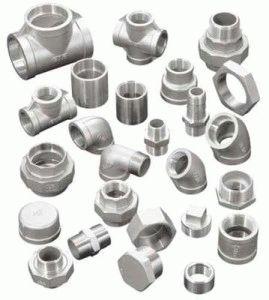 Резьбовые фитинги для стальных труб