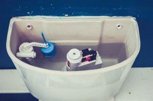 Не останавливается вода в унитазе