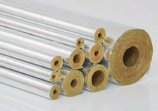 Утеплитель стекловата для труб
