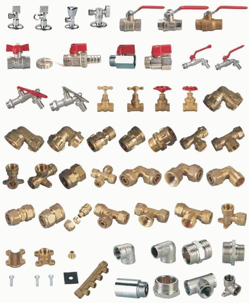 Разнообразие латунных соединений
