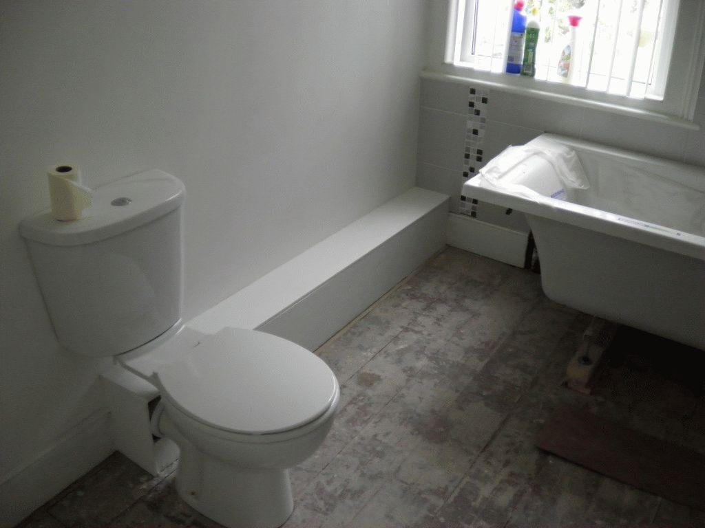 Трубы в ванной закрыты