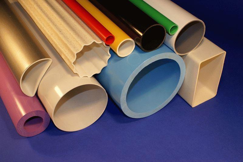 Разные формы и размеры труб