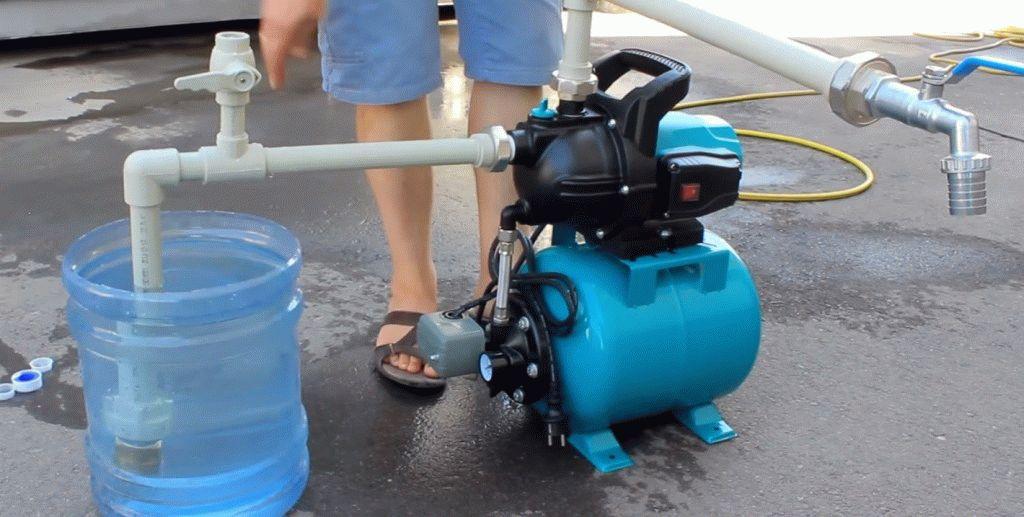 Насосная станция для водопровода