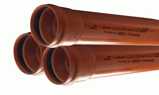 Трубы из пластика для канализации