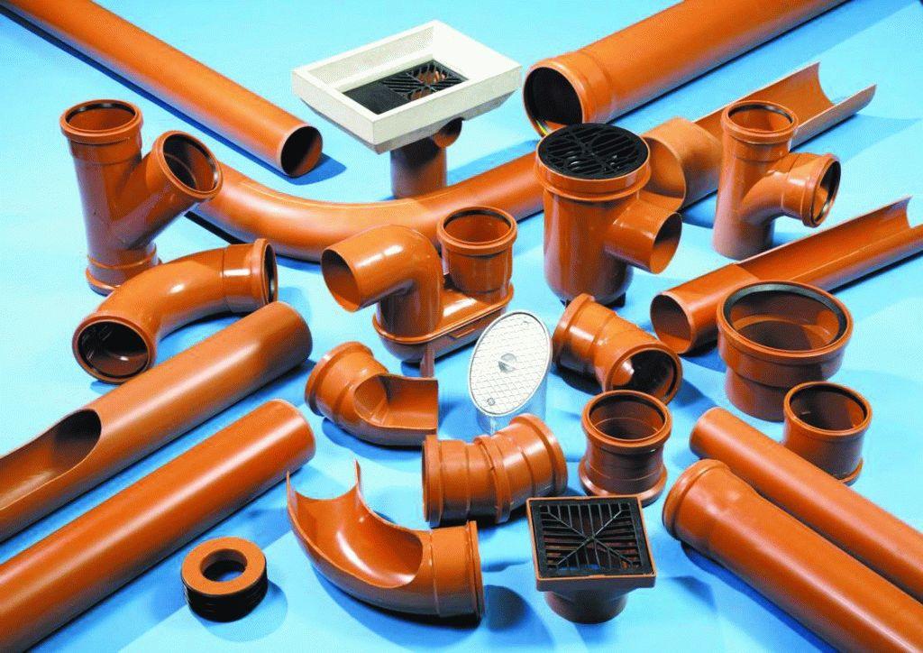 Соединительные элементы канализационной системы