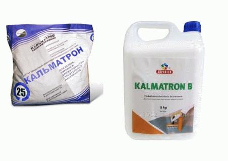 Гидроизоляционная смесь Кальматрон