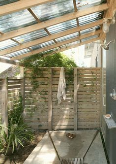 Надёжный дачный душ