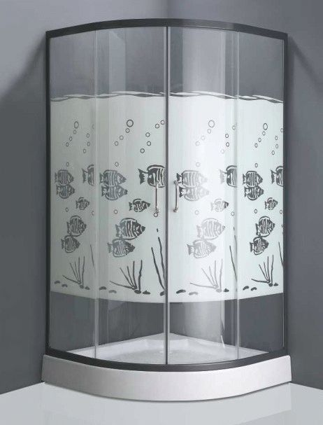Укреплённое стекло для душевого бокса