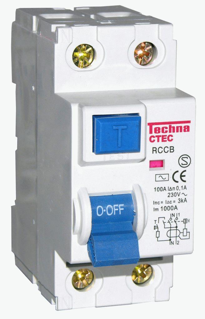 Автомат защиты для электросети