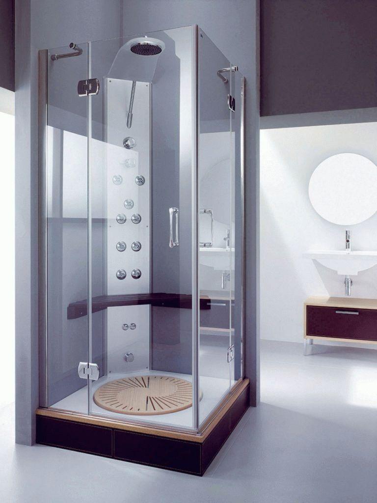 Ванная с душевой кабинкой