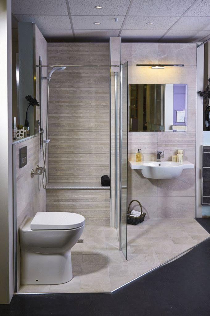 Дизайн санузла со скошенными стенами